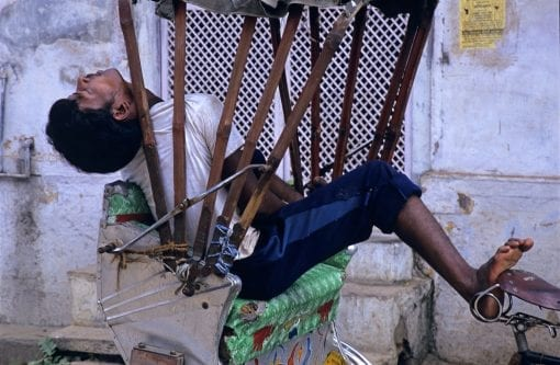Siesta, Varanasi. Imdia